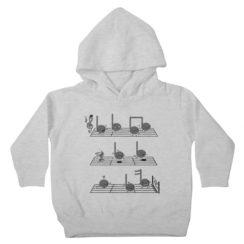 Sound Track Kids Toddler Pullover Hoody by Made With Awesome