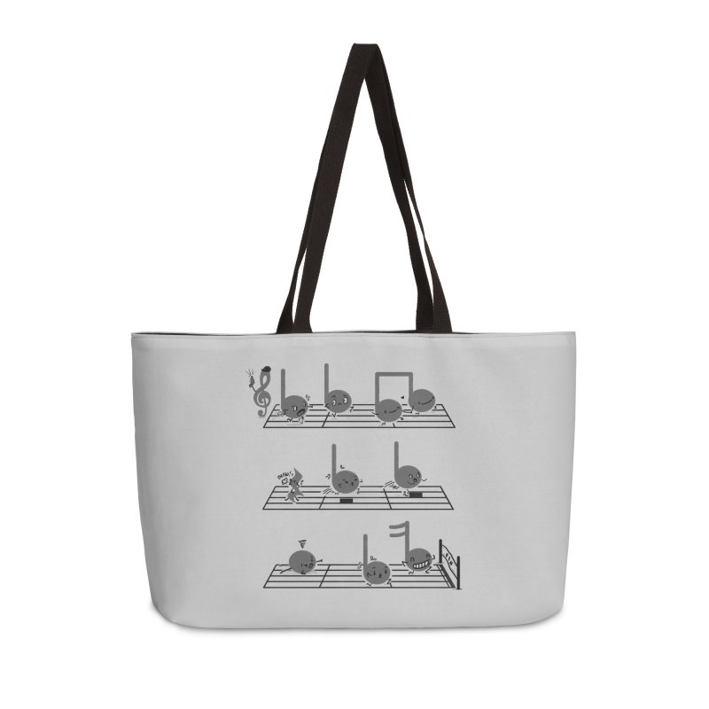 Sound Track Accessories Weekender Bag Bag by Made With Awesome