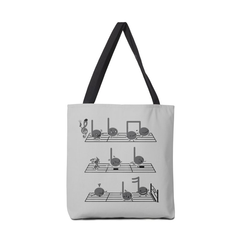 Sound Track Accessories Tote Bag Bag by Made With Awesome