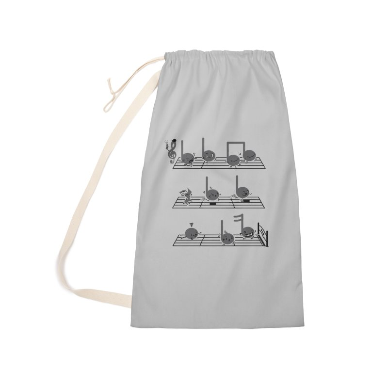 Sound Track Accessories Laundry Bag Bag by Made With Awesome