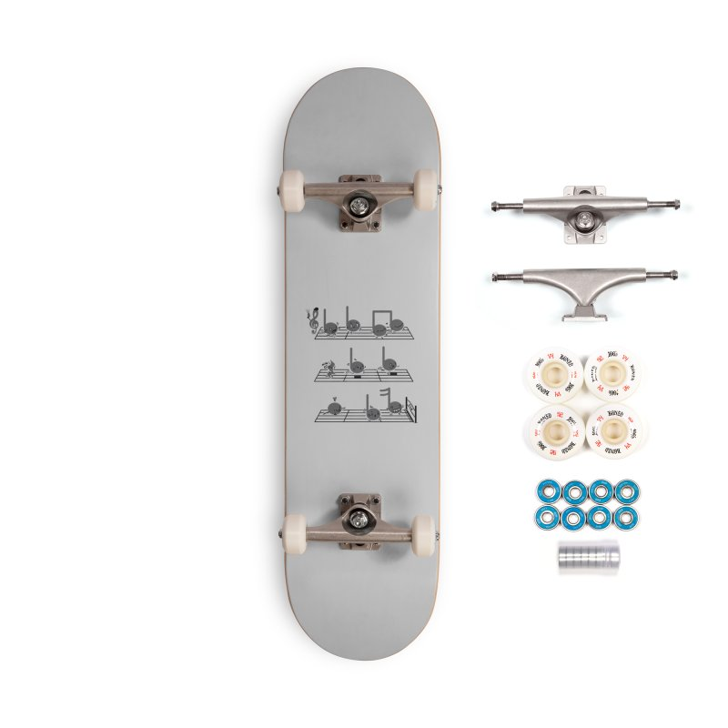 Sound Track Accessories Complete - Premium Skateboard by Made With Awesome