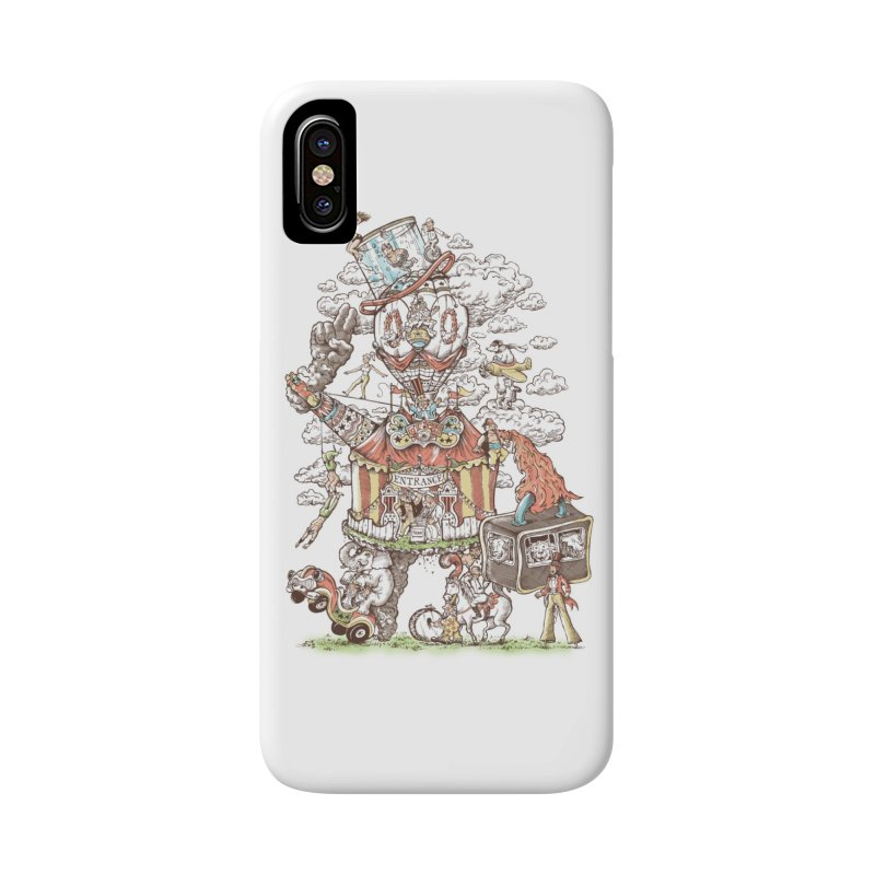 Traveling Circus Accessories Phone Case by Made With Awesome