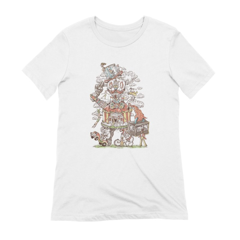 Traveling Circus Women's Extra Soft T-Shirt by Made With Awesome