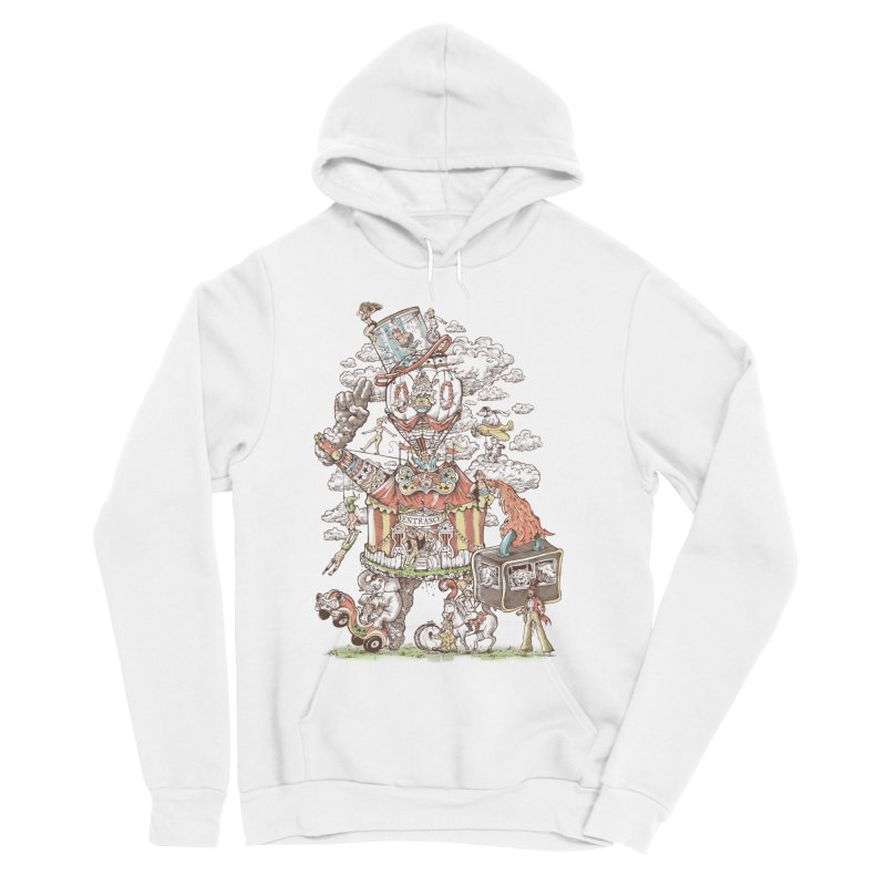 Traveling Circus Women's Sponge Fleece Pullover Hoody by Made With Awesome