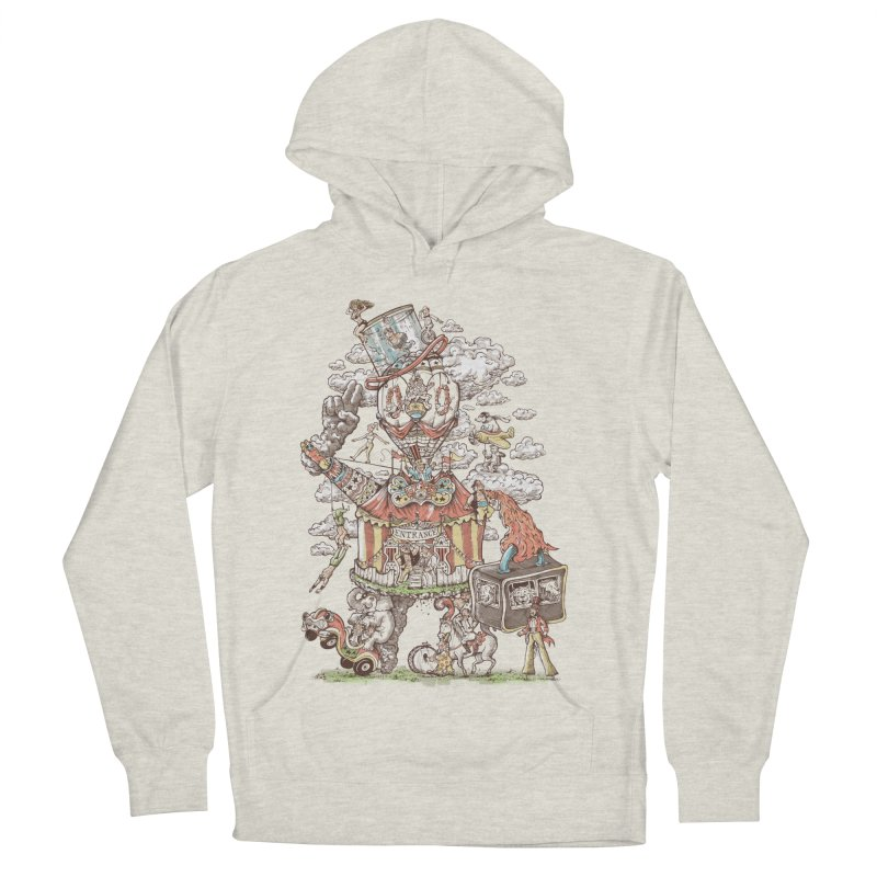 Traveling Circus Women's French Terry Pullover Hoody by Made With Awesome