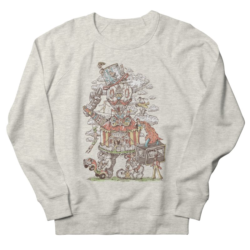 Traveling Circus Men's French Terry Sweatshirt by Made With Awesome