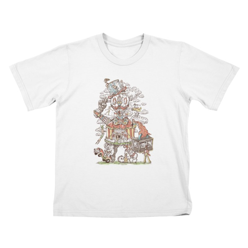 Traveling Circus Kids T-Shirt by Made With Awesome