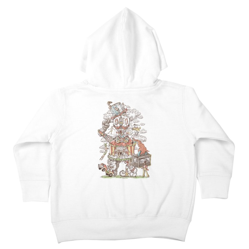 Traveling Circus Kids Toddler Zip-Up Hoody by Made With Awesome