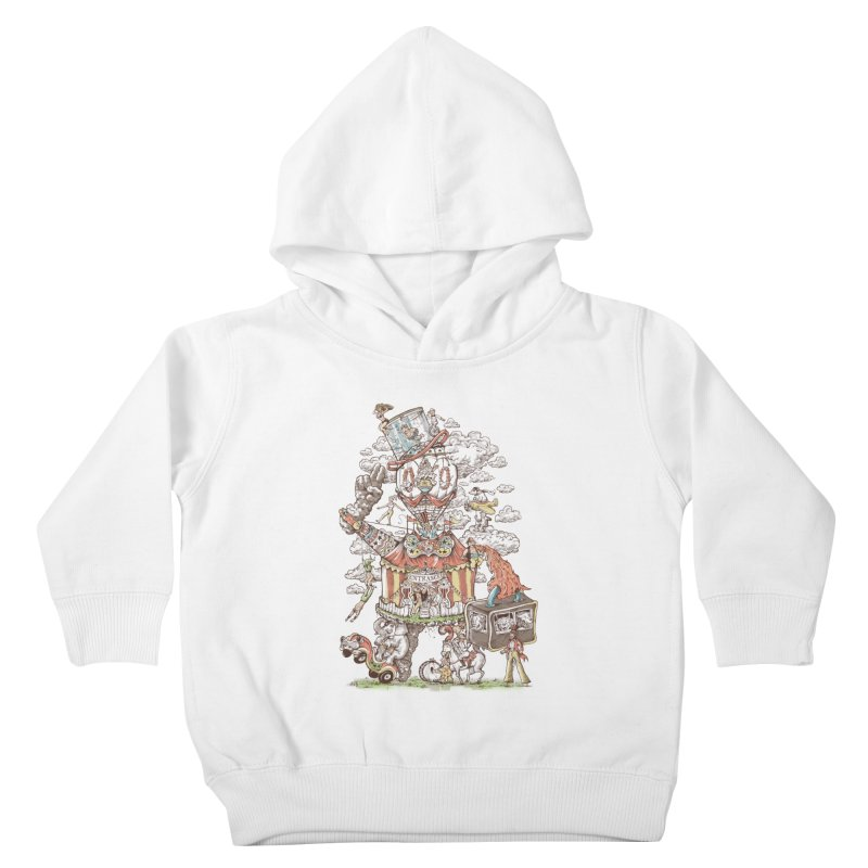 Traveling Circus Kids Toddler Pullover Hoody by Made With Awesome