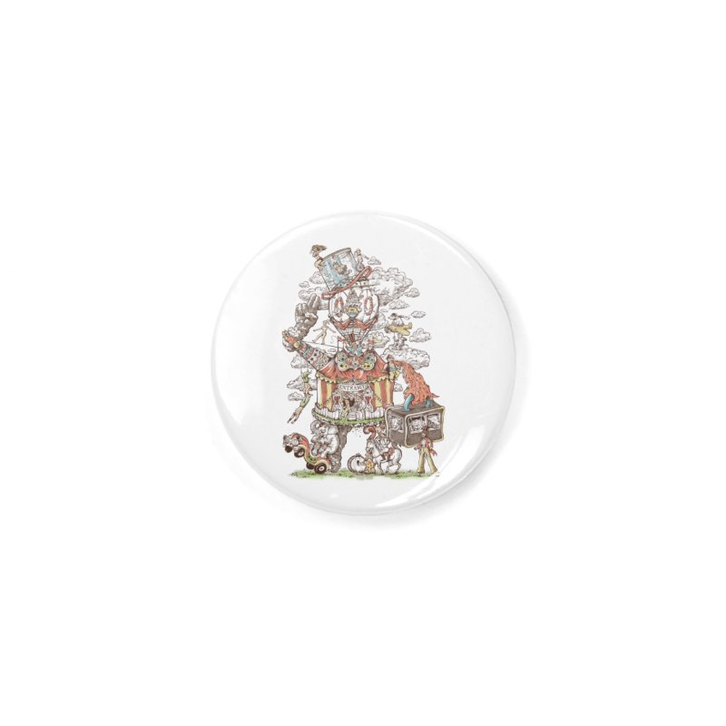 Traveling Circus Accessories Button by Made With Awesome
