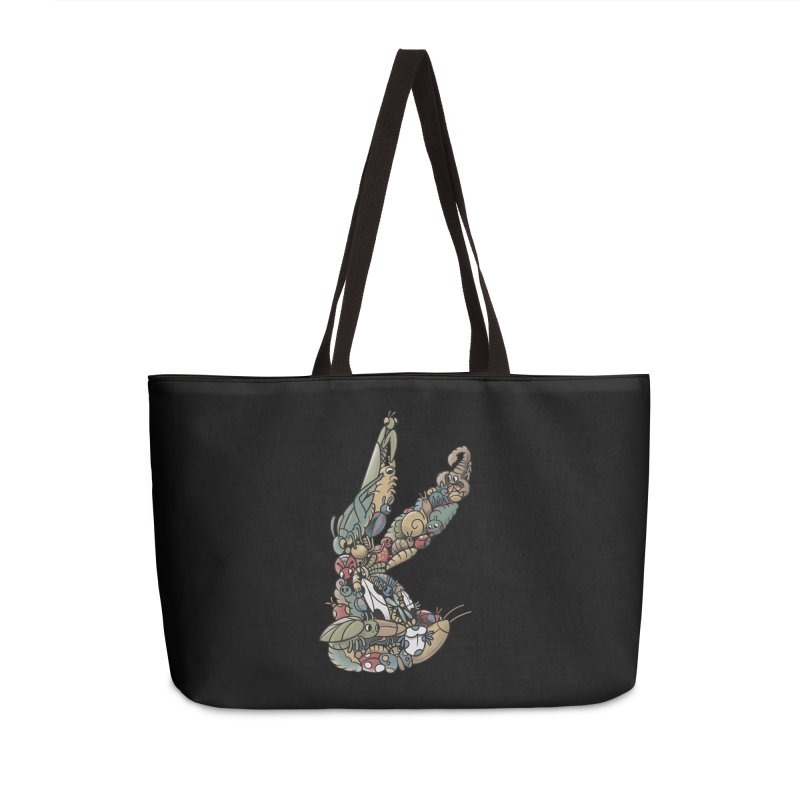 Bugs Accessories Weekender Bag Bag by Made With Awesome