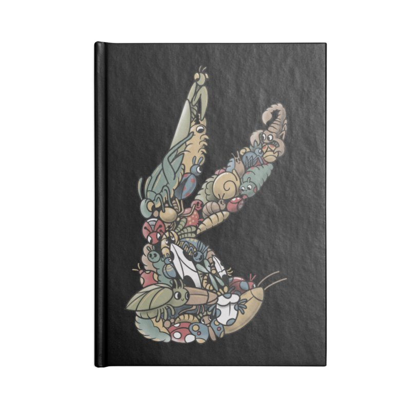 Bugs Accessories Blank Journal Notebook by Made With Awesome