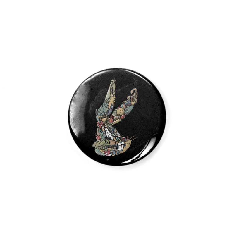 Bugs Accessories Button by Made With Awesome