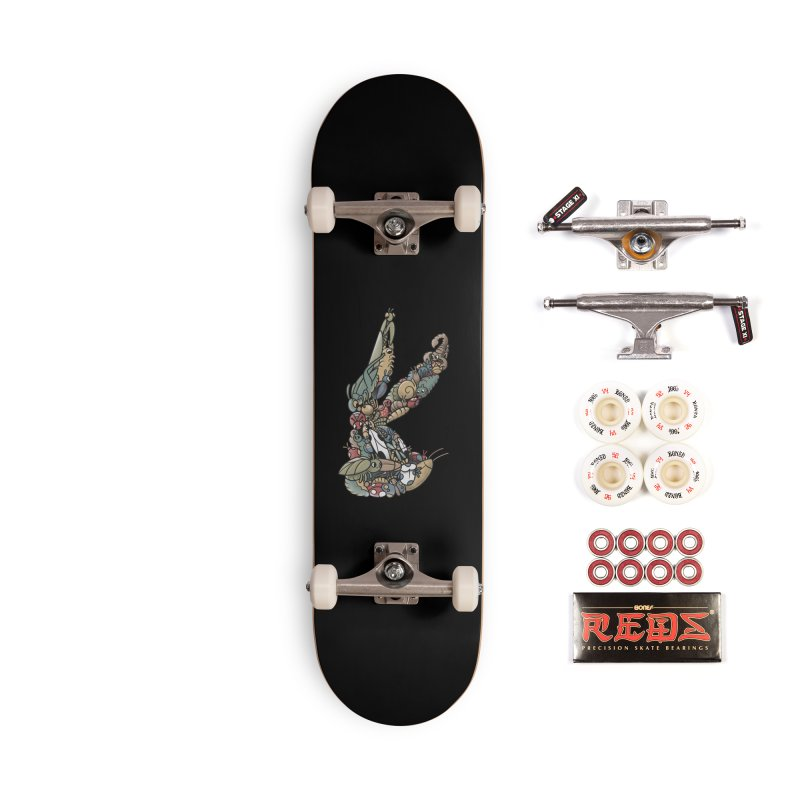 Bugs Accessories Complete - Pro Skateboard by Made With Awesome