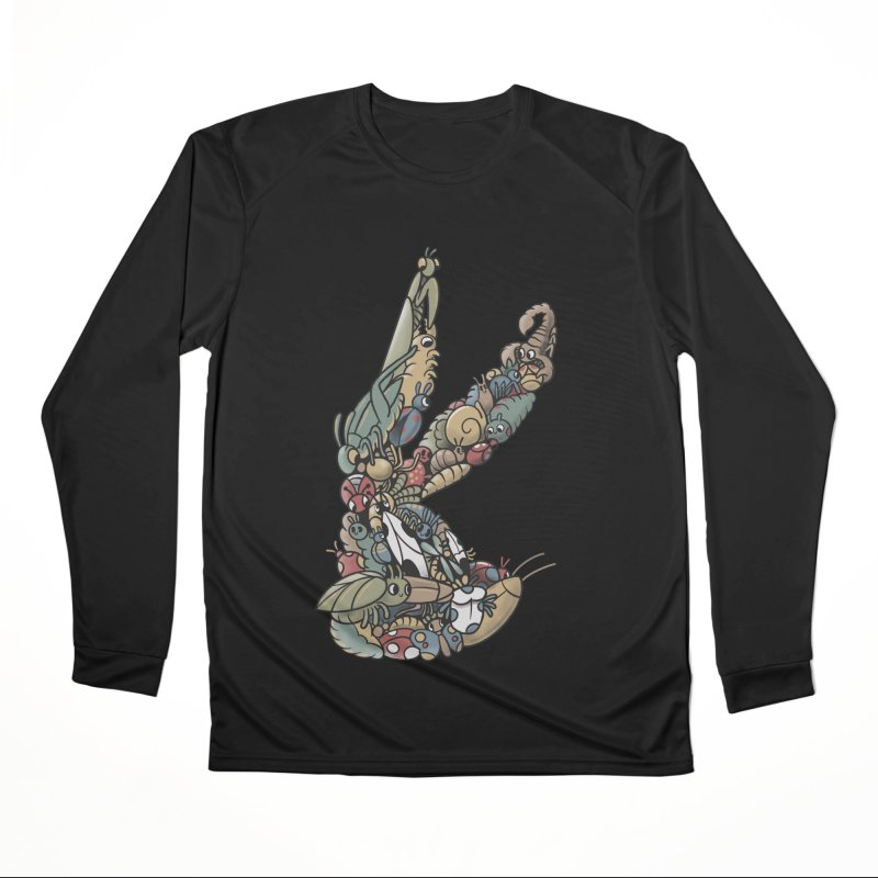 Bugs Men's Performance Longsleeve T-Shirt by Made With Awesome