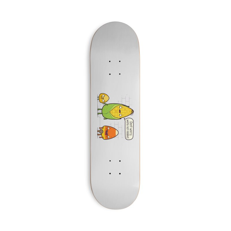 So Corny Accessories Deck Only Skateboard by Made With Awesome