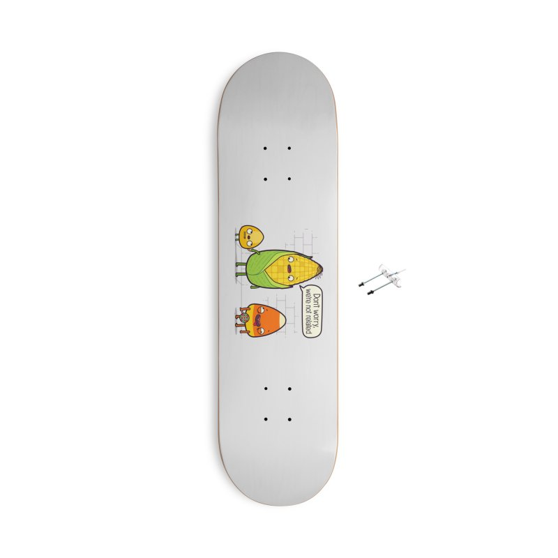 So Corny Accessories With Hanging Hardware Skateboard by Made With Awesome