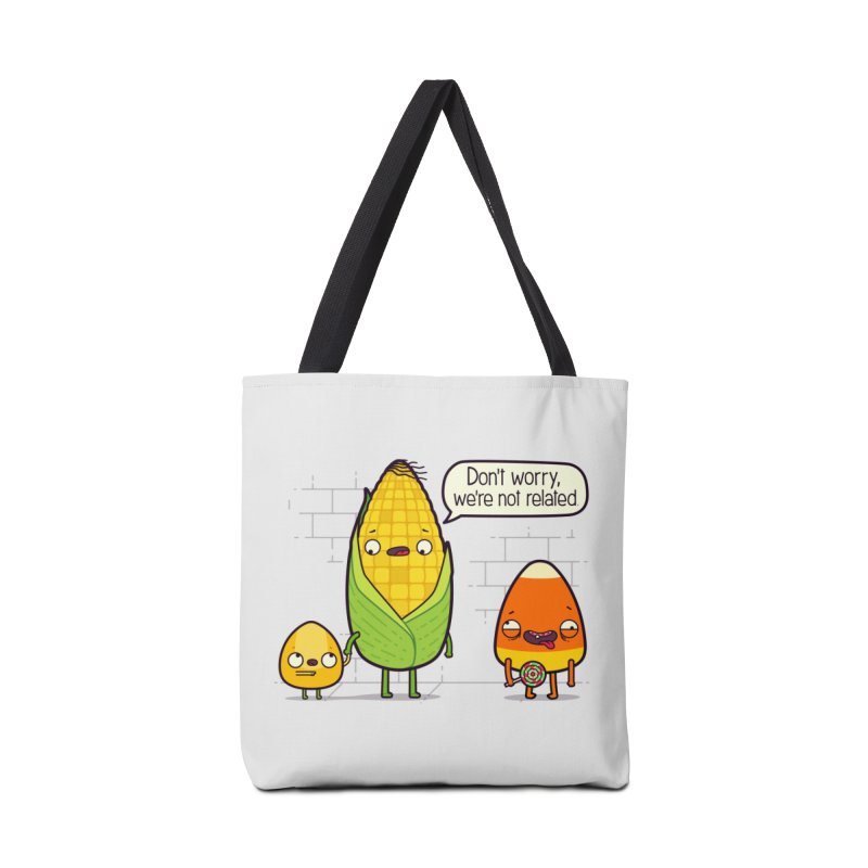 So Corny Accessories Tote Bag Bag by Made With Awesome