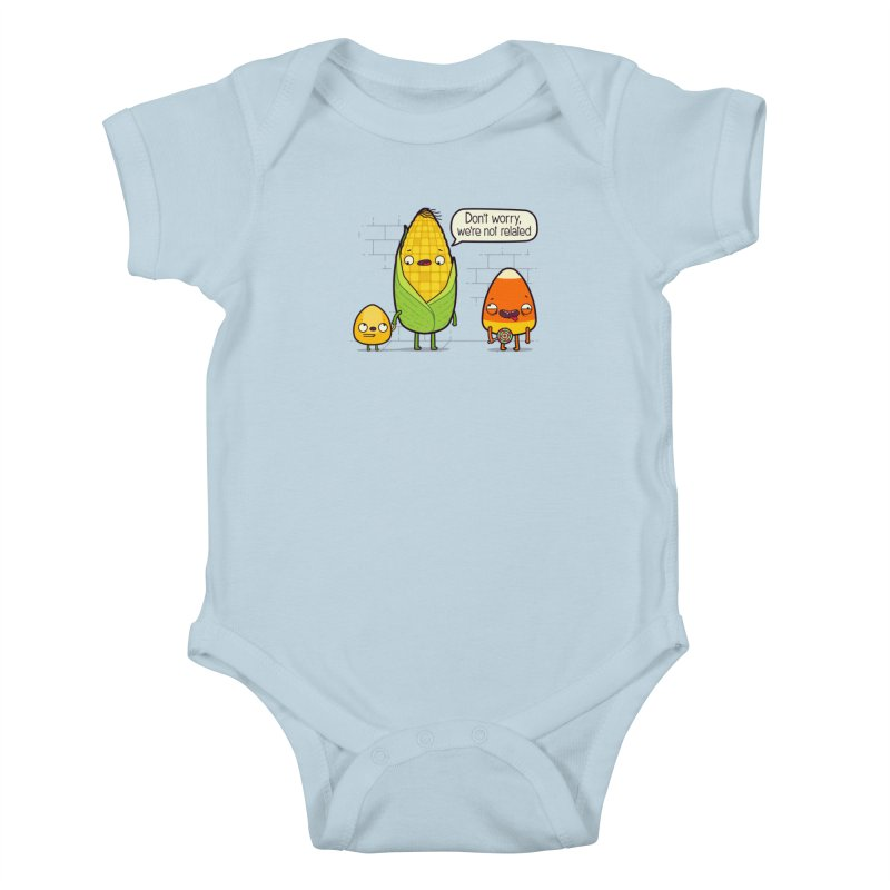 So Corny Kids Baby Bodysuit by Made With Awesome