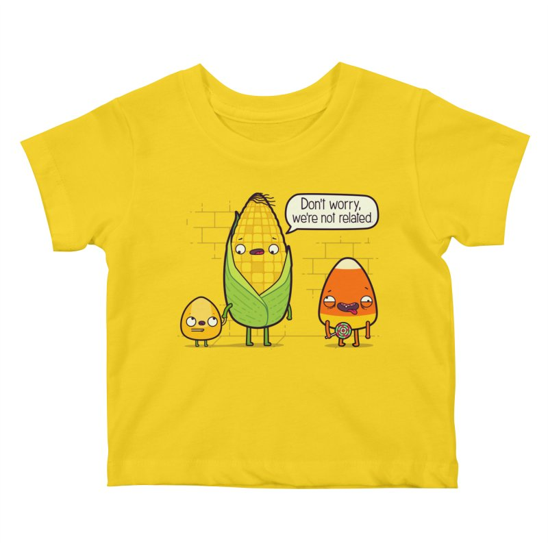 So Corny Kids Baby T-Shirt by Made With Awesome