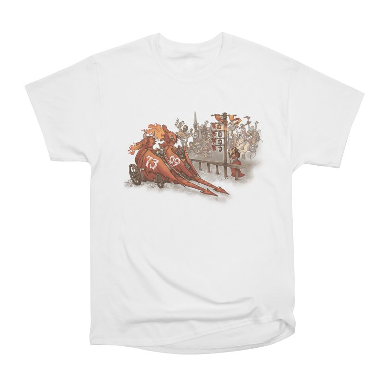 Drag Race Men's Heavyweight T-Shirt by Made With Awesome