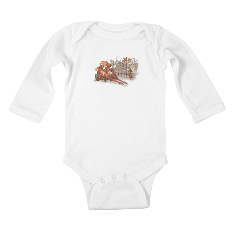 Drag Race Kids Baby Longsleeve Bodysuit by Made With Awesome