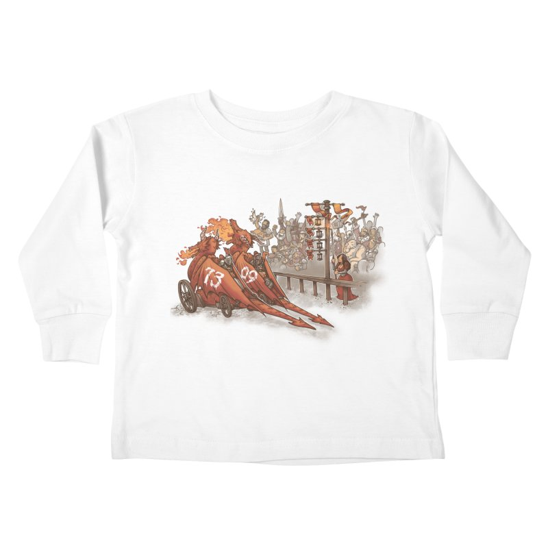 Drag Race Kids Toddler Longsleeve T-Shirt by Made With Awesome