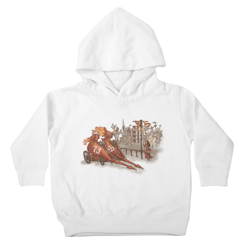 Drag Race Kids Toddler Pullover Hoody by Made With Awesome