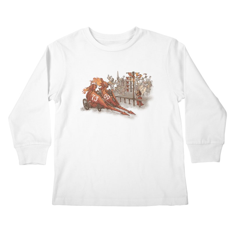 Drag Race Kids Longsleeve T-Shirt by Made With Awesome