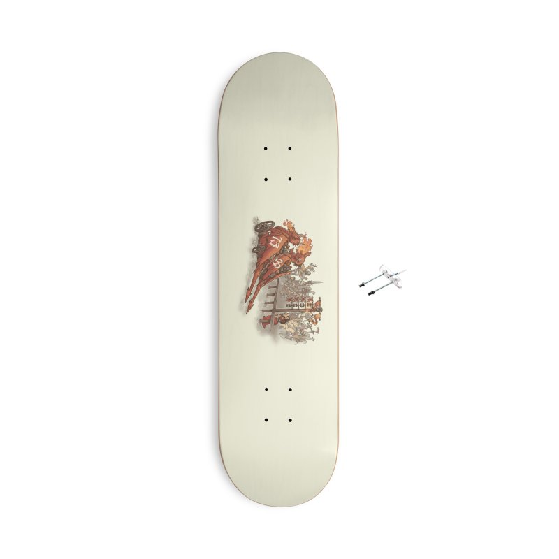 Drag Race Accessories With Hanging Hardware Skateboard by Made With Awesome