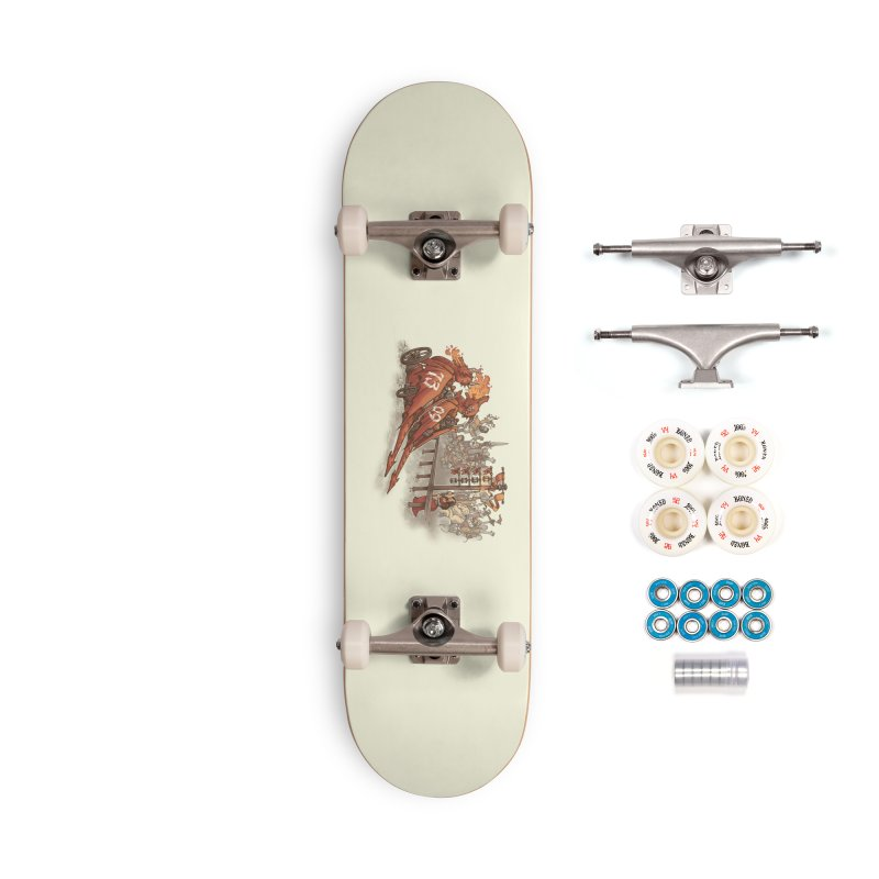 Drag Race Accessories Complete - Premium Skateboard by Made With Awesome