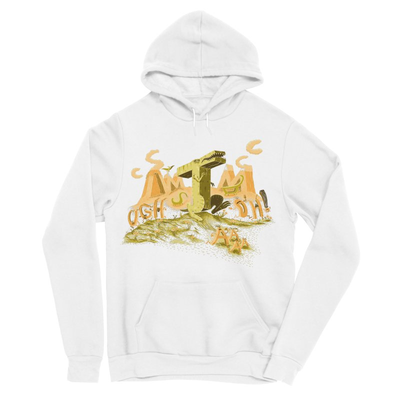 T Wrecks Men's Sponge Fleece Pullover Hoody by Made With Awesome