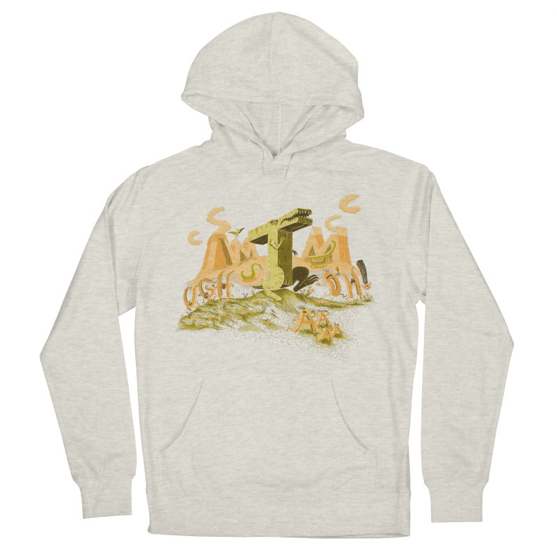 T Wrecks Men's French Terry Pullover Hoody by Made With Awesome