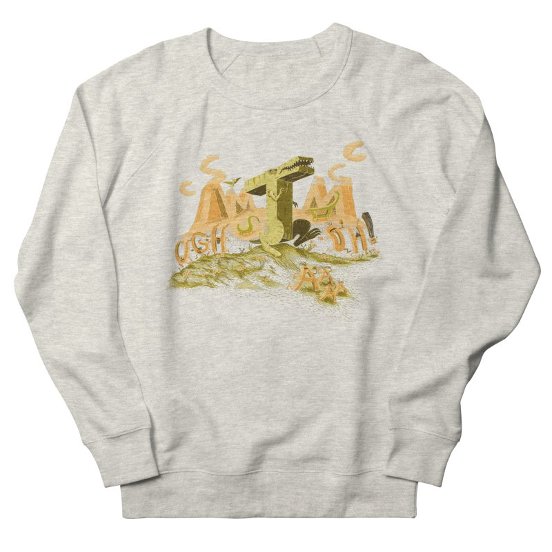T Wrecks Men's French Terry Sweatshirt by Made With Awesome
