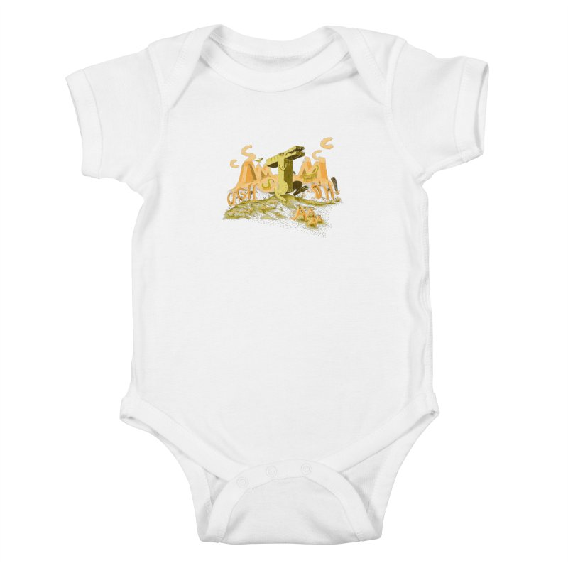 T Wrecks Kids Baby Bodysuit by Made With Awesome