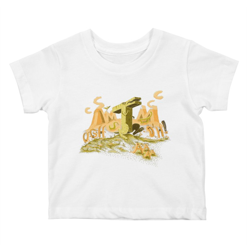 T Wrecks Kids Baby T-Shirt by Made With Awesome