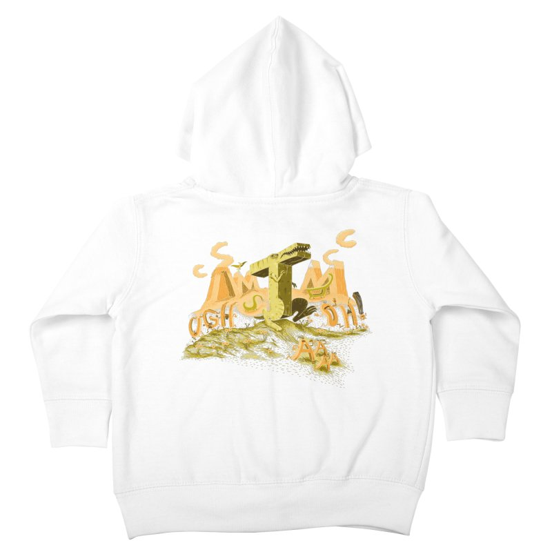T Wrecks Kids Toddler Zip-Up Hoody by Made With Awesome