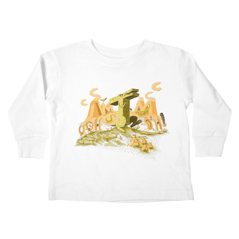T Wrecks Kids Toddler Longsleeve T-Shirt by Made With Awesome
