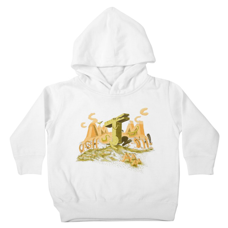 T Wrecks Kids Toddler Pullover Hoody by Made With Awesome
