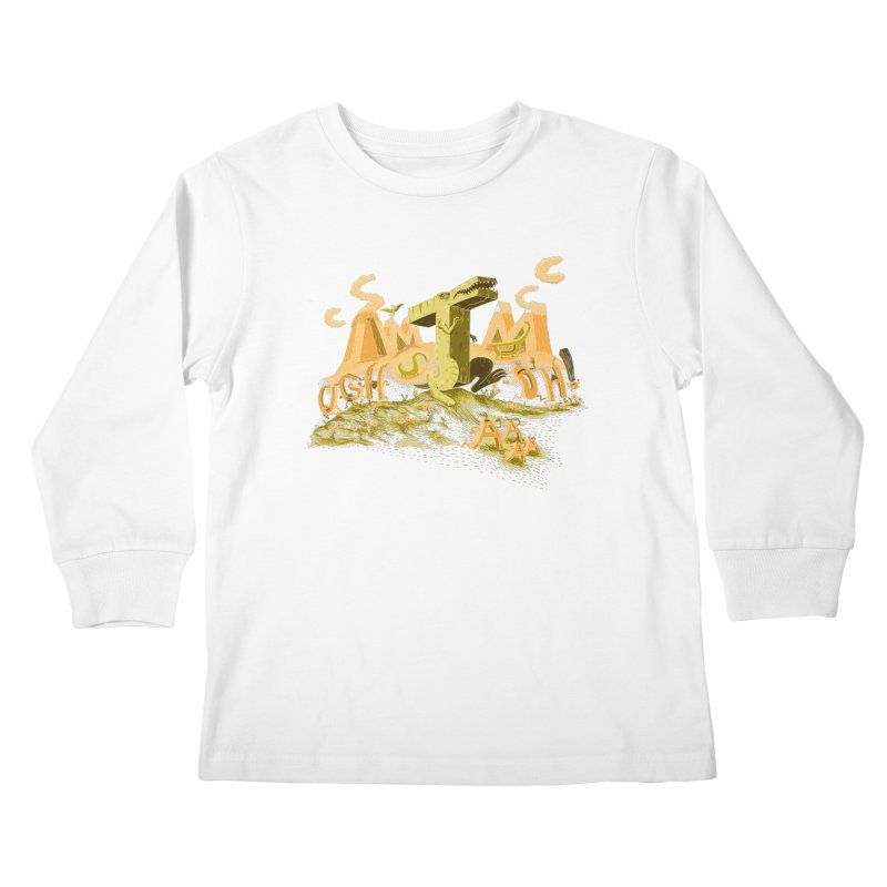 T Wrecks Kids Longsleeve T-Shirt by Made With Awesome