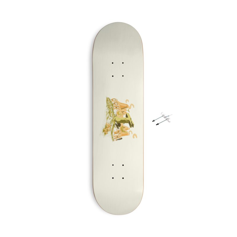 T Wrecks Accessories With Hanging Hardware Skateboard by Made With Awesome