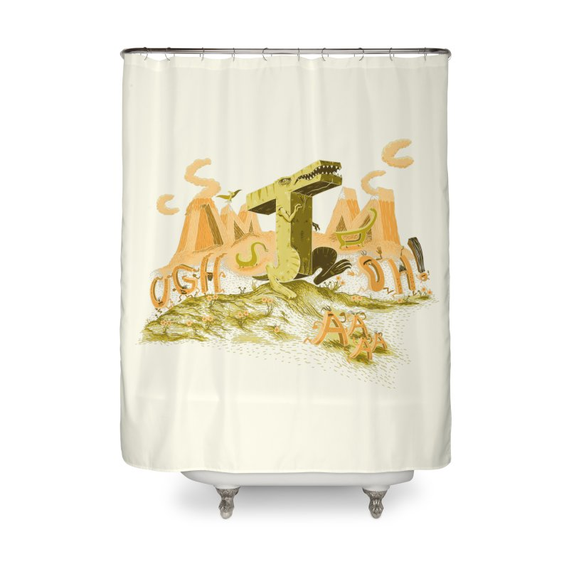 T Wrecks Home Shower Curtain by Made With Awesome