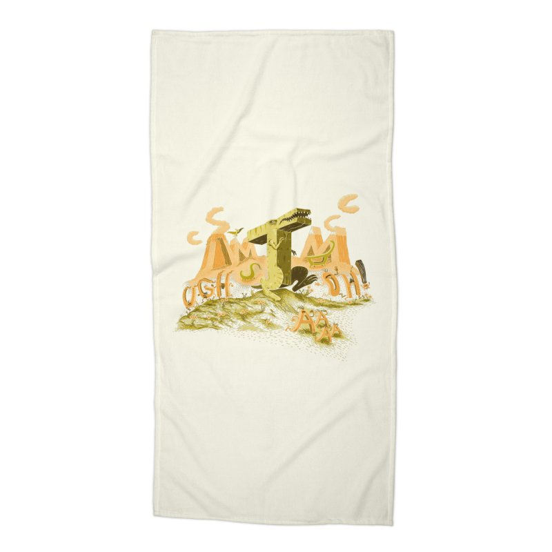 T Wrecks Accessories Beach Towel by Made With Awesome