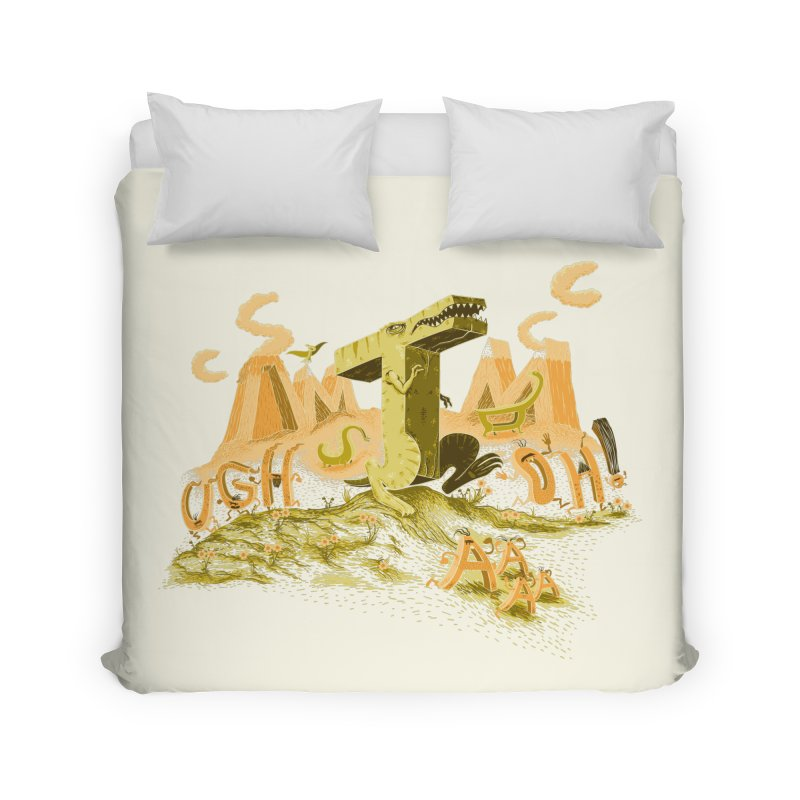 T Wrecks Home Duvet by Made With Awesome