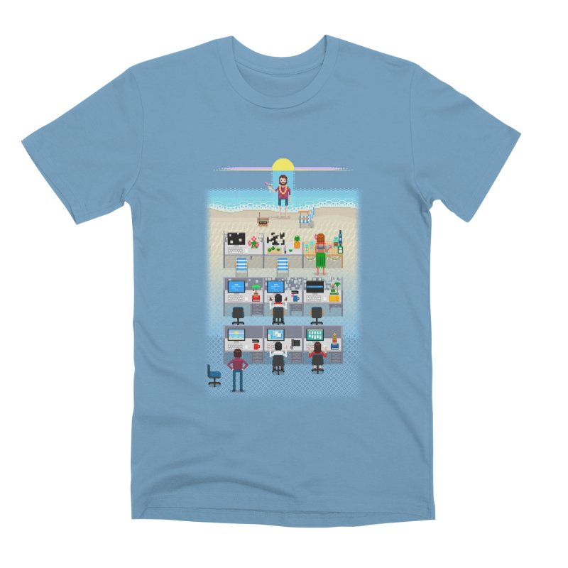 Office Daydream Men's Premium T-Shirt by Made With Awesome