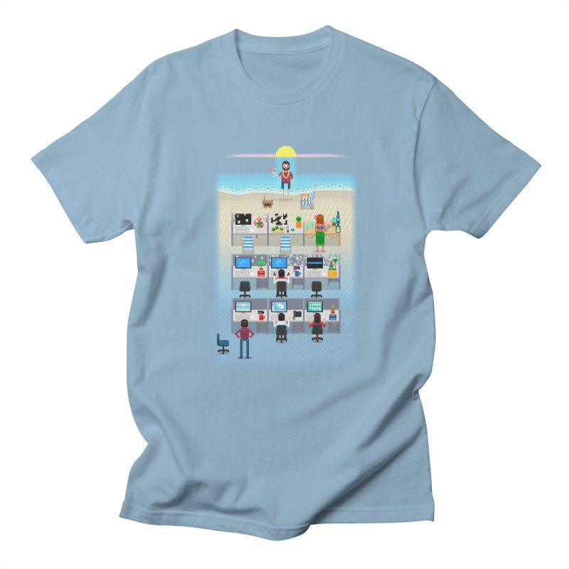Office Daydream Men's Regular T-Shirt by Made With Awesome