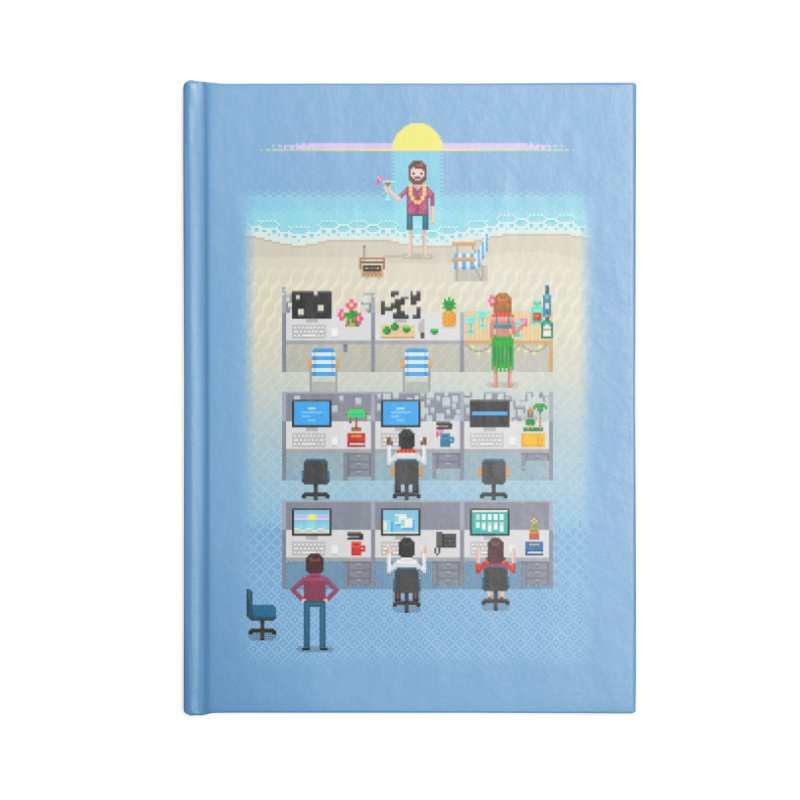 Office Daydream Accessories Blank Journal Notebook by Made With Awesome