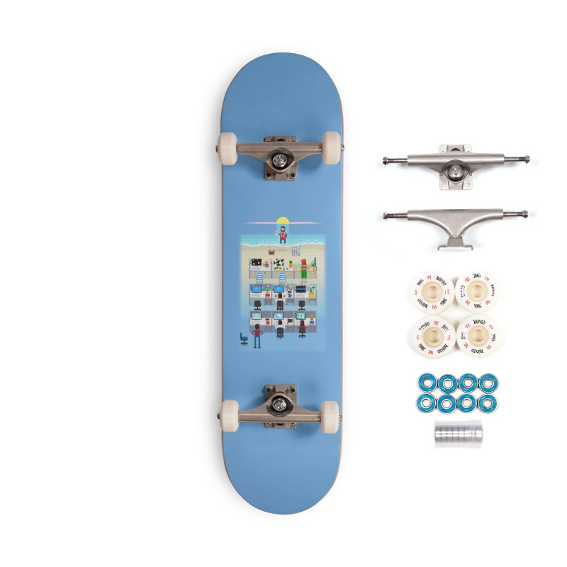 Office Daydream Accessories Skateboard by Made With Awesome