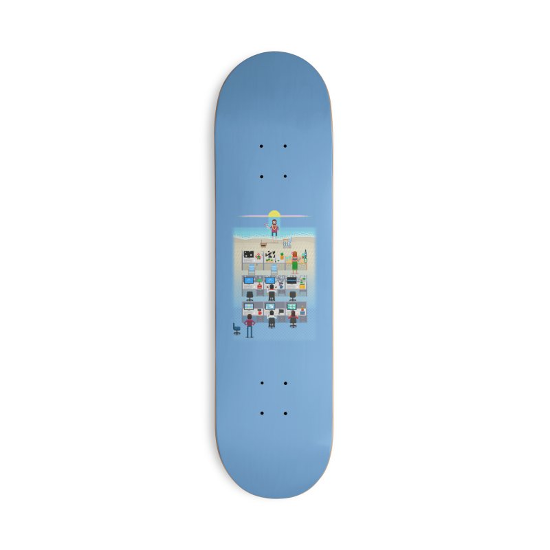 Office Daydream Accessories Deck Only Skateboard by Made With Awesome