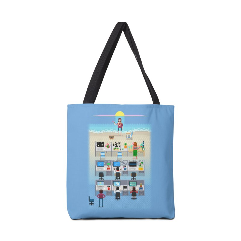 Office Daydream Accessories Tote Bag Bag by Made With Awesome